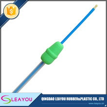 Green Gilt intrauterine artificial insemination semen catheter with blocked tube