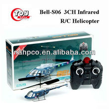 Bell-S06 3CH Infrared R/C Helicopter