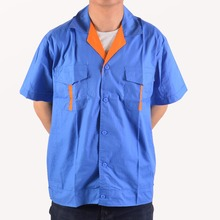 Factory supply mechanic engineering work wear clothes uniform reflective work shirts