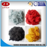dry nonsilicon polyester staple fiber raw material price