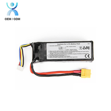 Deep cycle li-polymer battery 7.4v lithium ion battery 2S 5200mAh 35C lipo battery pack for RC truck boat car drone