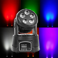 professional dj equipment 6in1 RGBW UV 5x18W led moving head projector