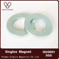 Moto Magnet Application strong large diametrically magnetized ring magnets