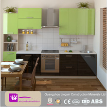 Modern kitchen small kitchen cabinet organizer fitted kitchens with modern design for hot selling