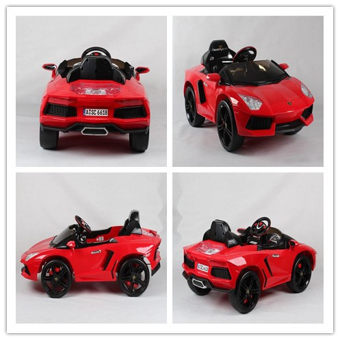 2015 new design hot sale Kids electric ride on race car