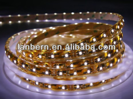 PU Glue Bulk buy from China High Lumen 480lm/m IP65 4.8Watt 60LEDS/M 3528SMD 24 volt LED Strip Lighting CE&ROHS 2years warranty