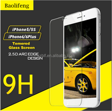 Mobile phone accessories 2015 Tempered glass screen protector products made in Japan for iphone 5 5c 5s