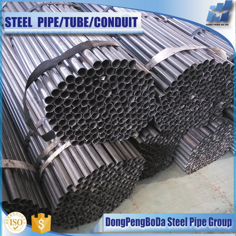 2016 cold formed drawn rolled black erw furniture annealed steel pipe