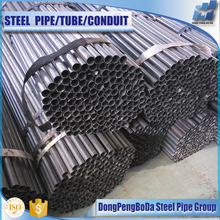 2016 cold formed rolled black erw furniture annealed steel pipe