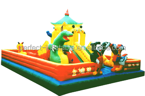 Used commercial bouncer house inflatable jumping