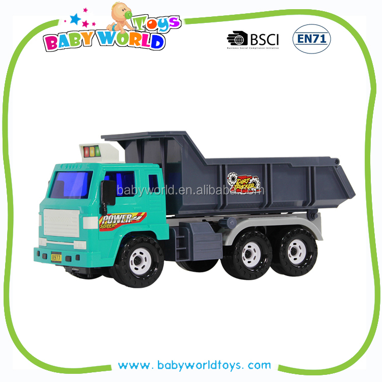 Toy car for big kids dump cheap plastic toy trucks
