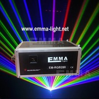 Free shipping 6W ILDA RGB Full Color programmable Animation Laser Light SD Card+ LCD display+Key lock+Free software