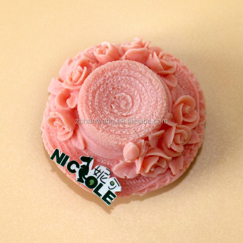 Cake Decorating Work Environment : R1440 Beach Hat Design Summer Season Silicone Rubber Soap ...