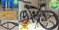 2.4L motorized bicycle frame/petrol bicycle frame