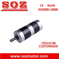 high quality 56mm Brushless dc motor with planetary gearbox