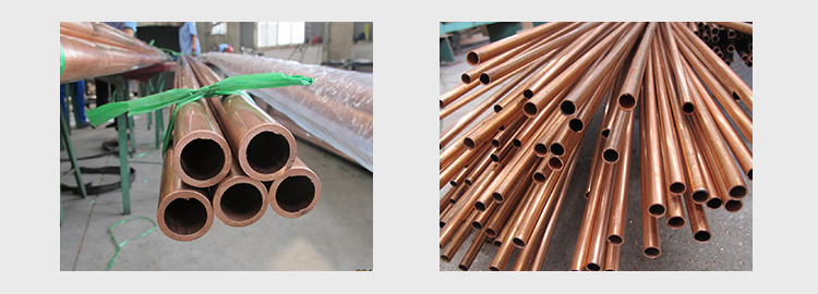 15mm Astm B280 Straight Copper Pipe Tube Coils