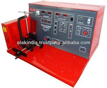 Auto electrical test bench mark i buy auto electrical for Electric motor test bench
