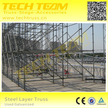 Decorative Steel Truss , types of steel trusses