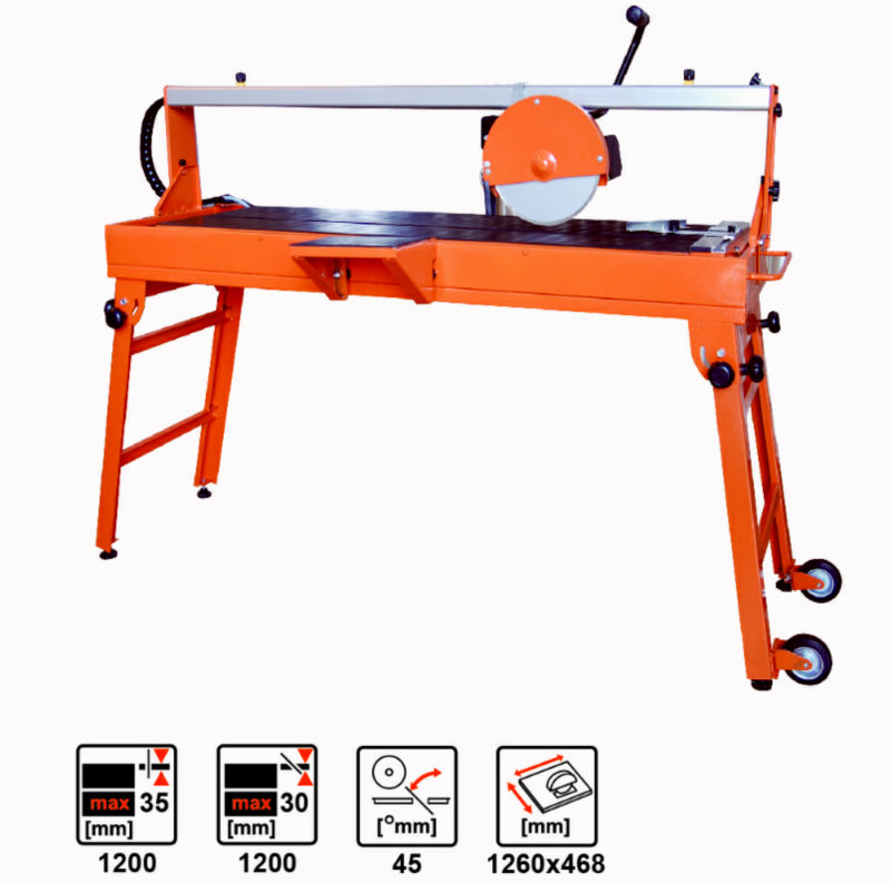 China, 1200w or 1200w ,230mm industries stone/tile saw TSW230N ,tile cutting saw,electric saw