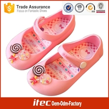 New design wholesale beaded sandals girls jelly sandal in candy color