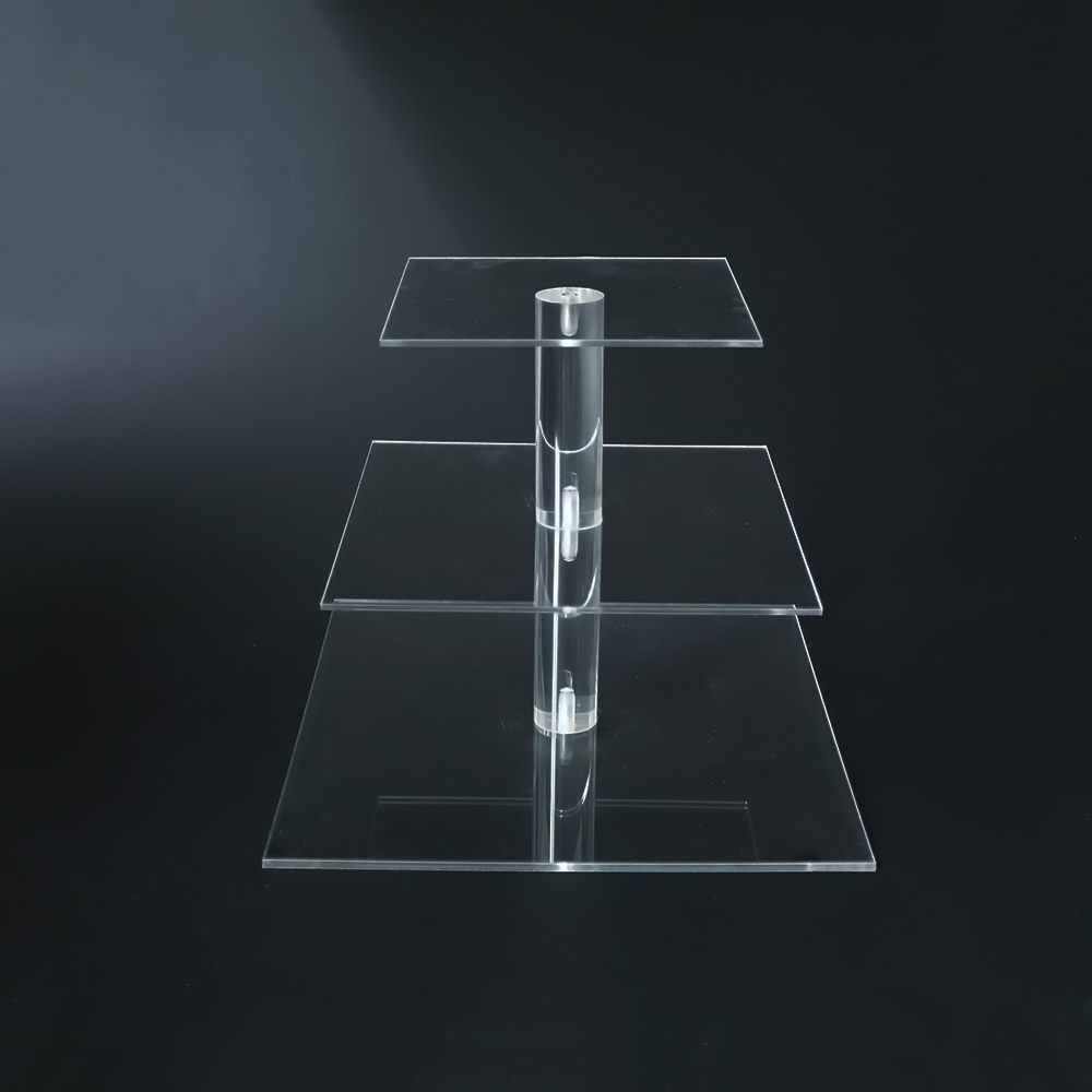 DeYuab Light Acrylic Cupcake Stand Covers Customed Size And Kinds Factory For Sale