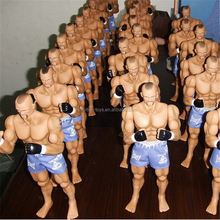 custom football player action figure toys soccer man model toy plastic PVC action figure toys