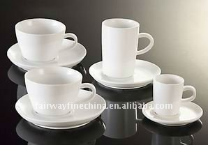 set prices hot sales wedding and hotel ceramic coffee cup set