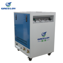 mobile noiseless generate 100% dry air compressor for experiment