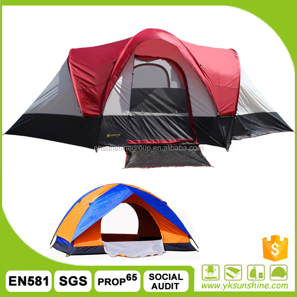 Family outdoor swag large canvas tents for sale/Folding camping tent/camping equipment