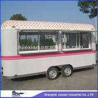 2015 New Style!! Shanghai JX-FS 500R mobile wells cargo concession trailers for sale
