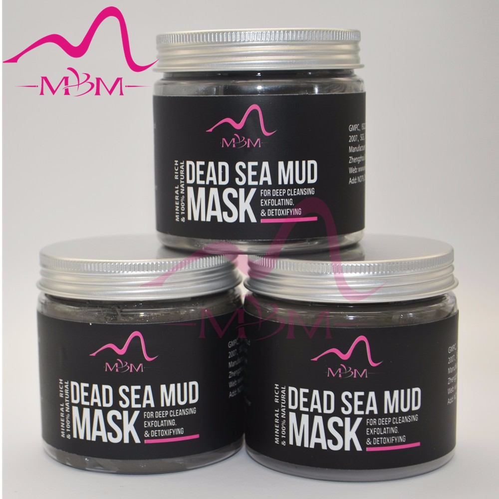 NEW Advanced Dead Sea Mud Mask, 250g/ 8.8 fl. oz. (New Packaging) - Reduces Wrinkles, Facial Treatment