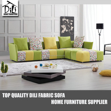 Trendy <strong>Modern</strong> Design Living Room Fabric Sectional Sofa Set