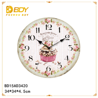 ajanta wall clock prices with rustic designs