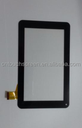 Many modle capatitive touch screen,flexible printed ,transaprent glass for IPad
