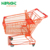 150L Asian style metal supermarket shopping trolley