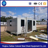 Economical Three Ready built prefabricated house design mobile the prefab house luxury modular housing portable plans design
