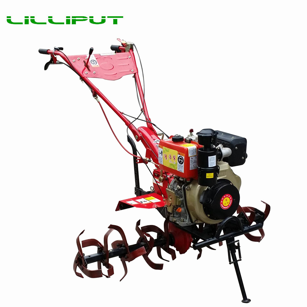 Professional two Wheel Diesel China Mini Motocultor For Rice Farming
