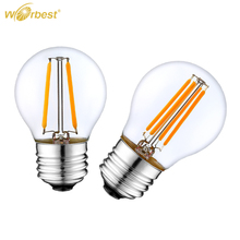 China Wholesale Market 2W E26 Dimmable Filament Led Bulb G45 UL Listed, 3 years warranty