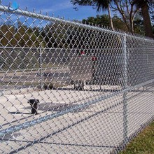 High Quality 6 gauge high demand used chain link fence weight