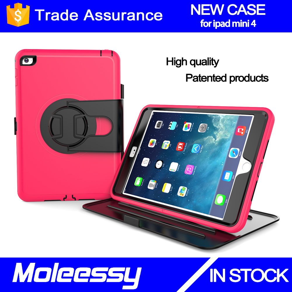 Unique customize hybrid drop resistance kid proof tablet case silicone protective case for iPad mini 4