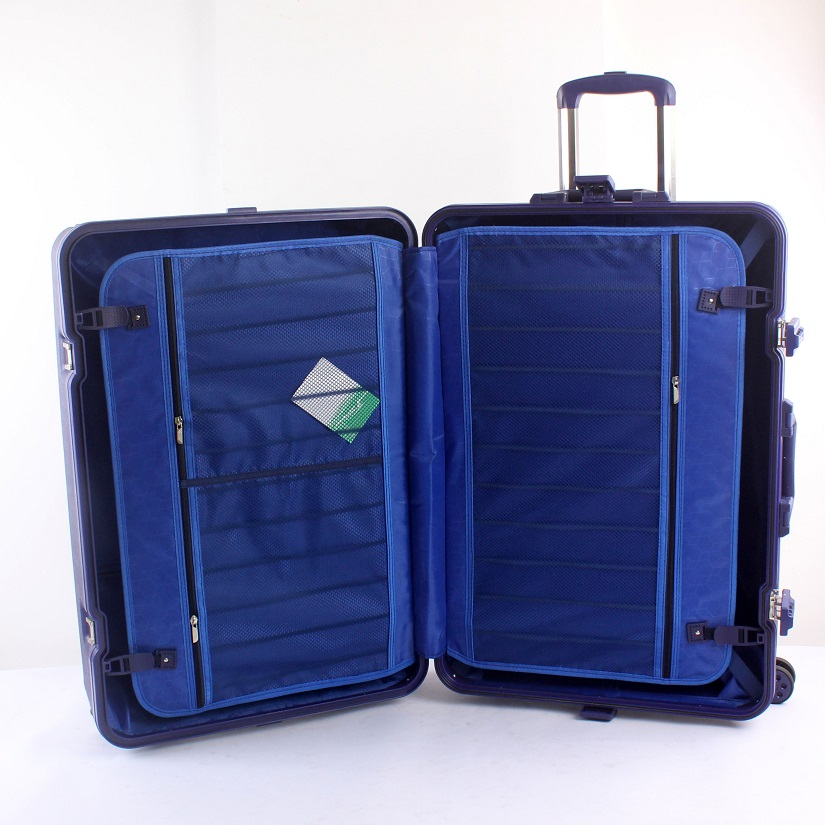 20/24/28 Polypropylene Travel Trolley Bag Suitcase New Design PP 3pcs Luggage Set