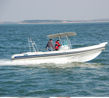 CE Certificate Cheap Fiberglass Hull Fishing Inflatable Yacht for sale