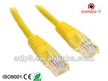 Cat 5e jumper wires with rj 45 connector