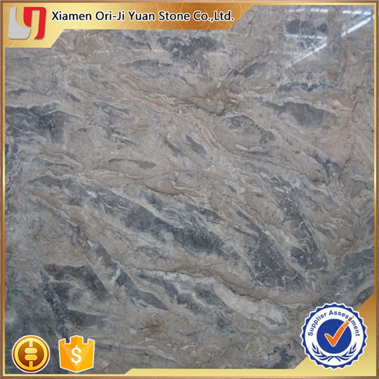 Customized best selling tundra grey marble tile