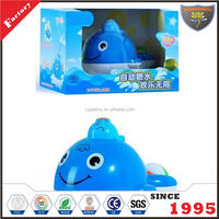 Water jet baby toys whale for bath