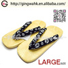 Fuuka Japanese Kimono Yukata Setta Geta Footwear Wholesaler Black Blue Men Casual Shoe Geta Setta Sandal men pvc slipper
