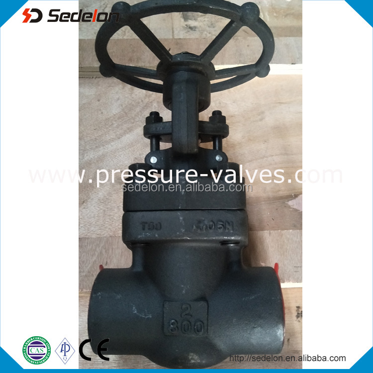 API602 150LB Forged Gate Valve Bolt Bonnet