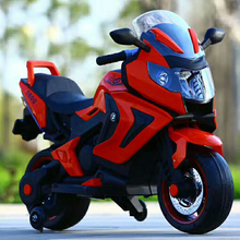 Top Quality Kids Pedal Control Motorbike Baby Rechargeable Motorcycle with Auxiliary Wheel