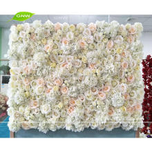 GNW FLW1707027 Floral panel rose and hydrangea wedding flower wall