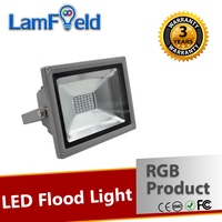 Low Energy Loss DMX512 Control 20W SMD RGB LED Flood Light For Garden Decoration
